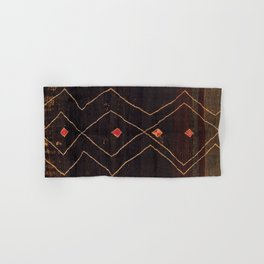 Feiija  Antique South Morocco North African Pile Rug Print Hand & Bath Towel