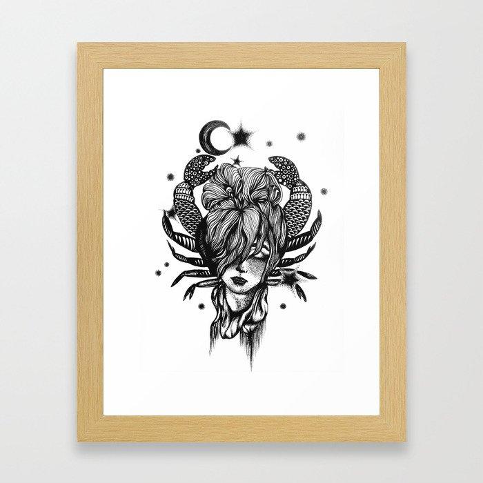 Cancer Framed Art Print