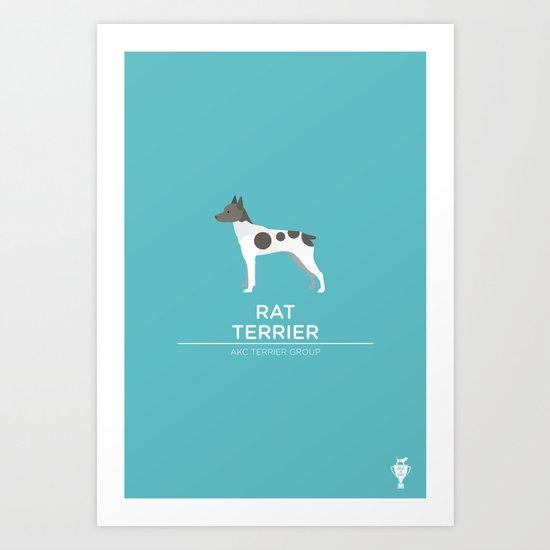 Rat Terrier Art Print
