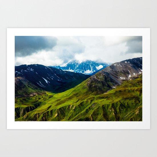 The Alpine Art Print