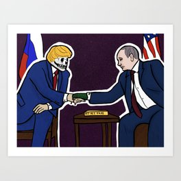 Mueller Report Art Print