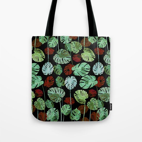 tropical contrast Tote Bag