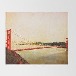 GOLDEN GATE BRIDGE - SAN FRANCISCO Throw Blanket