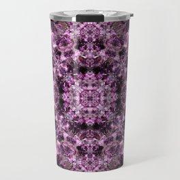Amethyst Mandala Travel Mug
