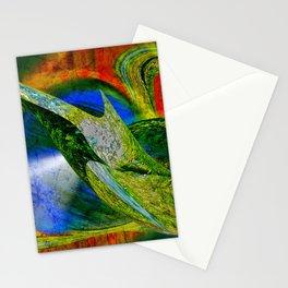 nobis sapidior abstracta Stationery Cards