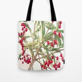 Christmas Berry Tote Bag