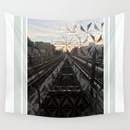 LIFE TRACKS Wall Tapestry