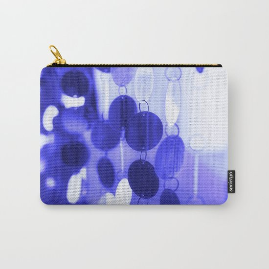 GLAM CIRCLES #Blue #2 Carry-All Pouch
