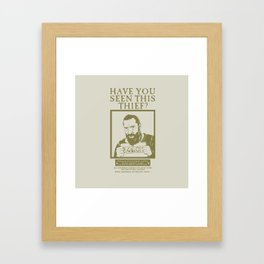 [ Les Miserables ] Jean Valjean Hugh Jackman Mis Framed Art Print