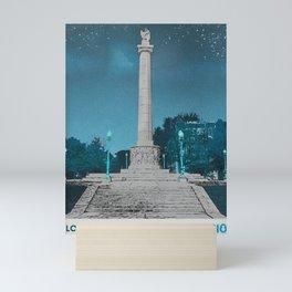 Logan Square - Illinois Centennial Monument 1918 Mini Art Print