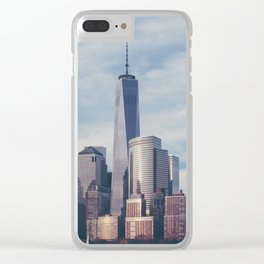 New York 08 Clear iPhone Case