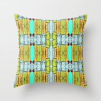 booty Throw Pillows featuring Booty by Patty Hogan