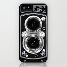 Camera Retro Lens Slim Case iPhone (5, 5s)