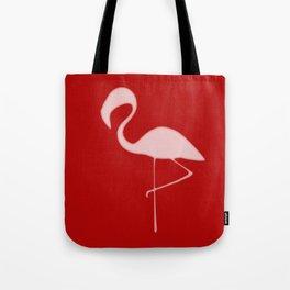 Flamingo Night Tote Bag