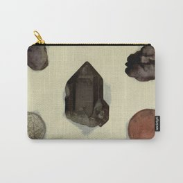 Quartz Minerals Carry-All Pouch