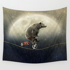balancing act (under the weather) Wall Tapestry