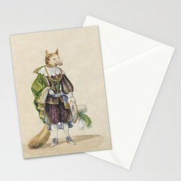 Noble Fox for Kids Stationery Cards