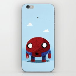 Chubby Web Slinger iPhone Skin