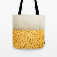 beer Tote Bags featuring Beer by Rorzzer