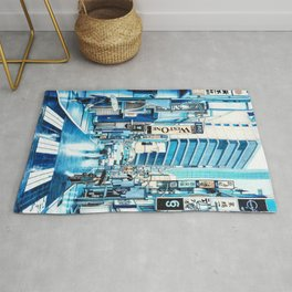 Rainy Day in Tokyo Rug