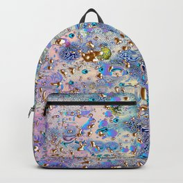 Golden Rain Simmetrical Backpack