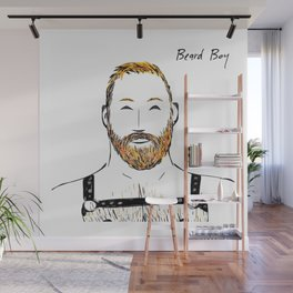 Beard Boy Harness 2 Wall Mural