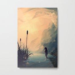 Evanescent Sunrise Metal Print