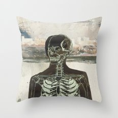 Naked Stare  Throw Pillow