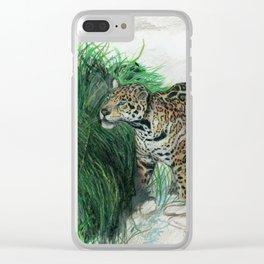 Study of a Jaguar Clear iPhone Case