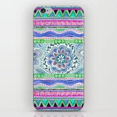 Aqua Bloom iPhone Skin