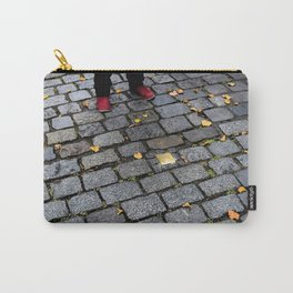 Red Shoes and Stumbling Stone Carry-All Pouch