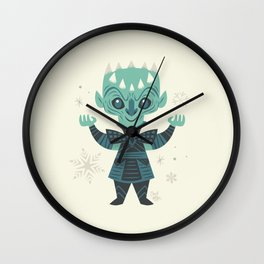 Winter Has Arrived Wall Clock