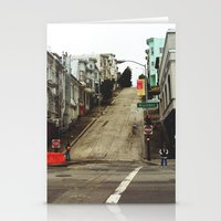 broadway Stationery Cards featuring Broadway by Laney Vela