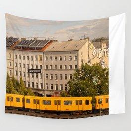 STREETART :: BERLIN :: GERMANY by Jay Hops Wall Tapestry