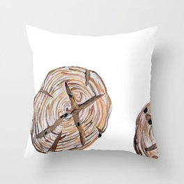 Raisin Bread - Hot Out of the Oven Throw Pillow