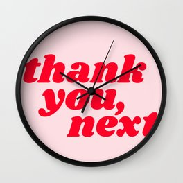 thank you, next Wall Clock
