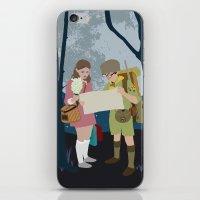 moonrise kingdom iPhone & iPod Skins featuring Moonrise Kingdom by Celina Frelinghuysen