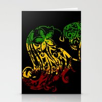 reggae Stationery Cards featuring Reggae Lady by Lonica Photography & Poly Designs