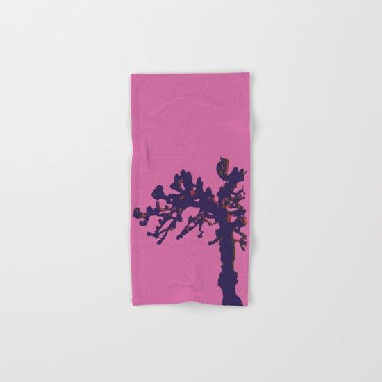 pop winter tree Hand & Bath Towel