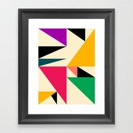 Triangled 08 Framed Art Print