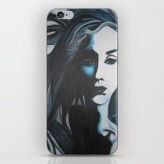 Women In Blue iPhone & iPod Skin