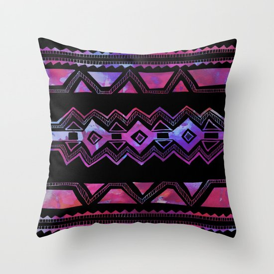 PATTERN {Tribal 001} Throw Pillow