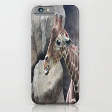 Giraffe Close up Slim Case iPhone 6s