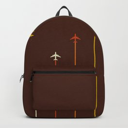 Classic Retro Airplanes 05 Backpack
