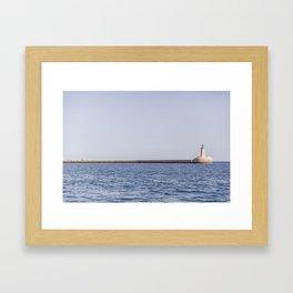 seaview - latern Framed Art Print