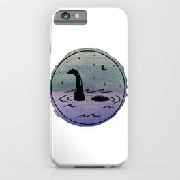 Watercolor Nessie iPhone Case