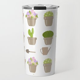 A wonderful design for those who are fond of plants , flowers . Travel Mug