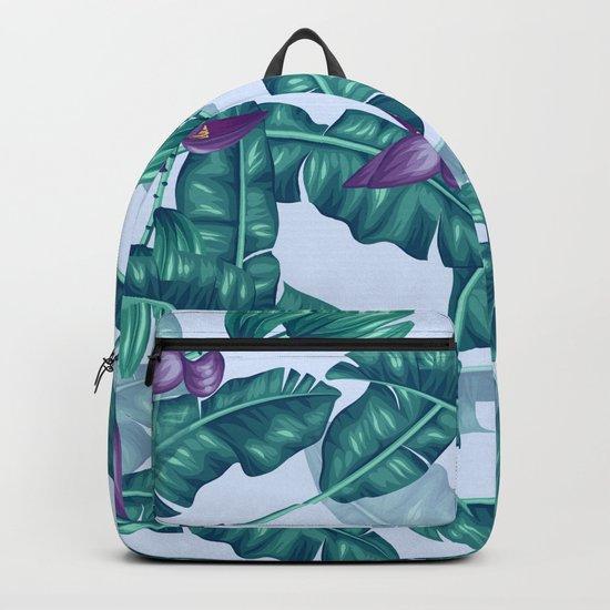 tropical flower Backpack