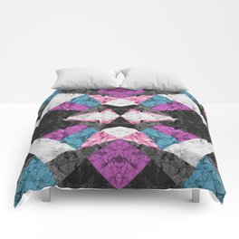Marble Geometric Background G438 Comforters