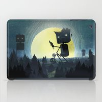giants iPad Cases featuring Hill Giants by GlennPorterArt